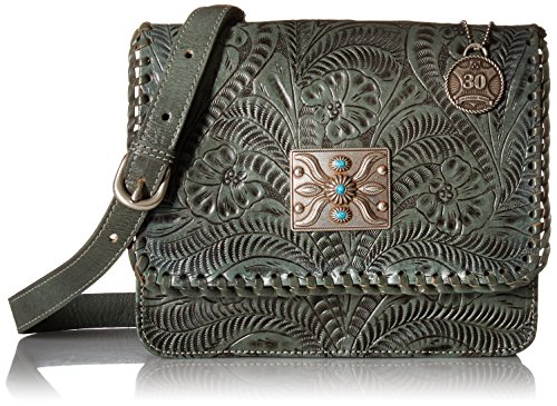 Flap Crossbody Turquoise American West Grand Prairie 8RnItAwP