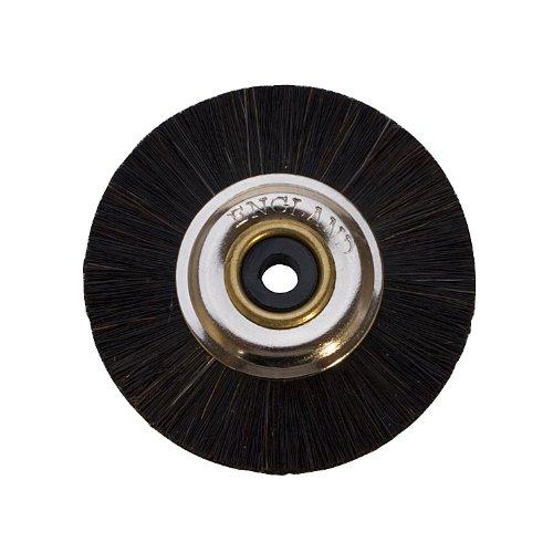 Metal-hub Brushes, Black, Stiff Brush   BRS-210.00