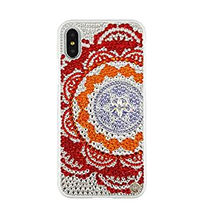 Uunique iPhone X Glowing Lace Premier Swarovski Hard Shell