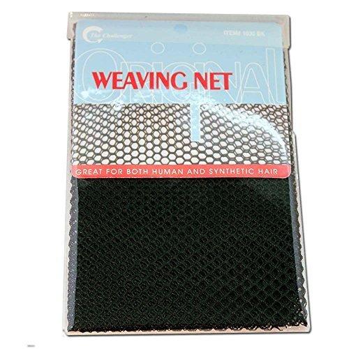 (3 Pack) The Challenger – Weaving Net #1030BK (Hair Weaving Net)