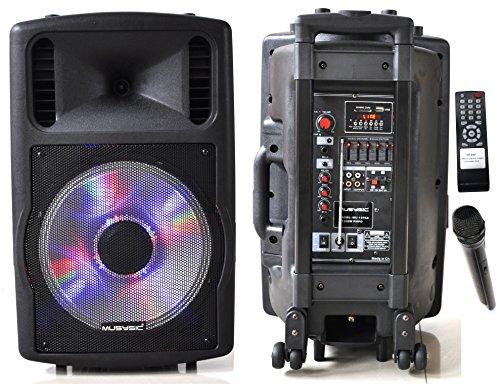 MUSYSIC 1200W Professional 12
