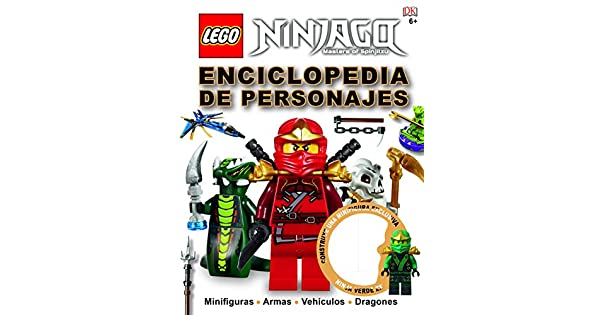Amazon.com: LEGO NINJAGO. ENCICLOPEDIA PERSONAJES (INC ...