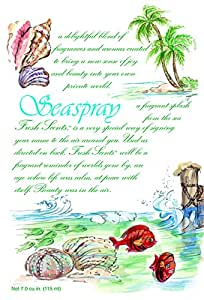 Fresh Scents Scented Sachets - Seaspray, Lot of 6
