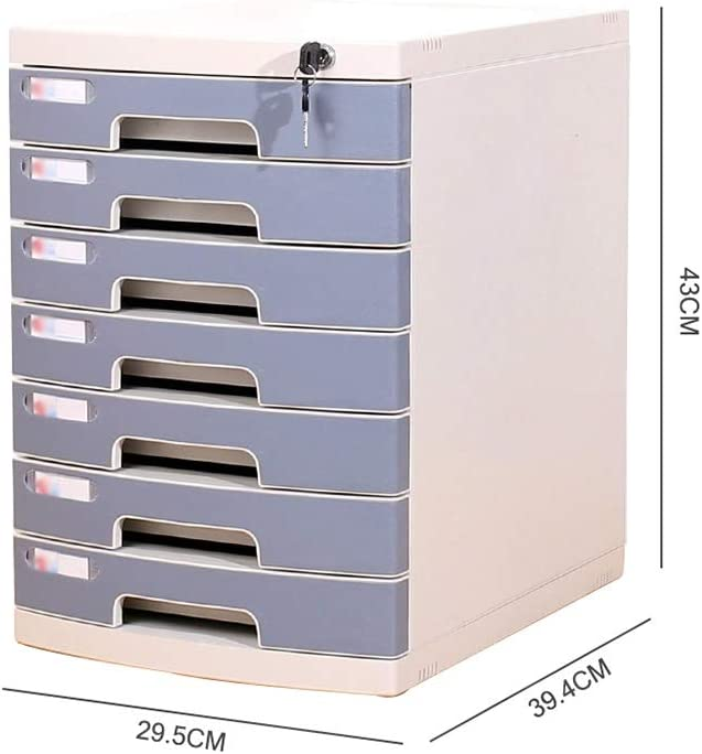 Color : A1 Bxwjg Desktop File Cabinet 4-Layers Drawer Organizer for Household Goods and Office Supplies Environmentally Friendly Plastic-2 Colors