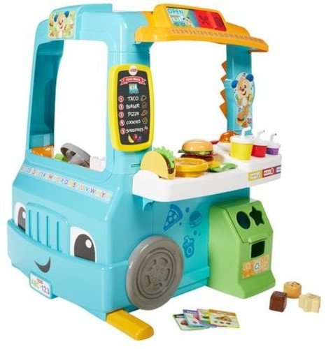 Fisher-Price Laugh & Learn Servin' Up Fun Food Truck by Fisher-Price