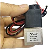 1/4inch DC 12V 2 Way Normally Closed Electric Solenoid Air Valve