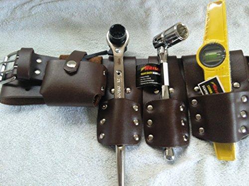 Rompecabezas 5 piezas herramientas cuero grueso con 4 PcsGood juego de cinturó n de seguridad... EVERGREEN