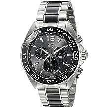 TAG Heuer Men's CAZ1011.BA0843 Formula 1 Analog Display Swiss Quartz Silver Watch