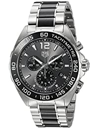 TAG Heuer Men's CAZ1011.BA0843 Formula 1 Analog Display Swiss Quartz Silver Watch