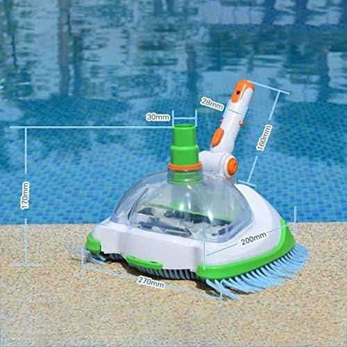 JIUYUE Skimmer Vacío Herramientas Piscina Cabeza Piscina y SPA Limpiafondos Manual Transparente máquina de Mantenimiento y Limpieza Limpieza: Amazon.es: Hogar