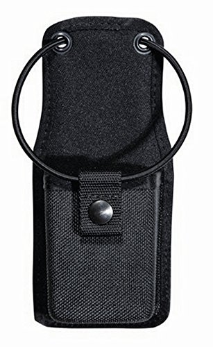 (Tuff Products Universal Radio Case Swivel Mount Elastic Retention Cord with Snap Closure, Black Nylon)