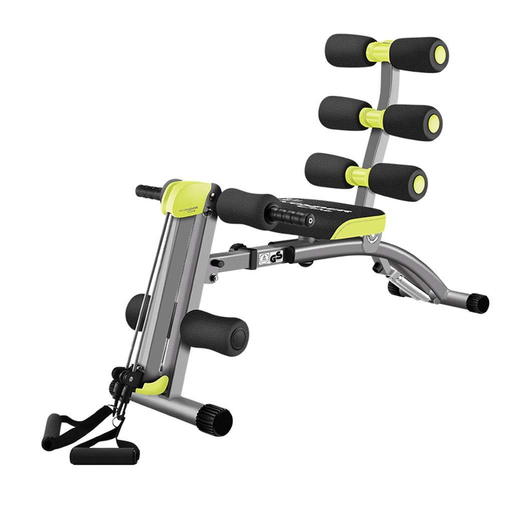腹筋器具 腹部訓練練習腹部の家族トレーナーウエストエクササイズフィットネス機器 (Color : Yellow, Size : 52*106*52cm) 52*106*52cm Yellow B07JYQ4K7C