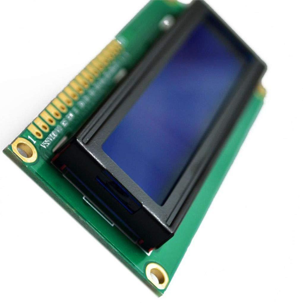 Morza 2PCS LCD1602A 3.3V LCD 1602A 16x2 Dot Matrix LCD Display Module Red Character Black Background