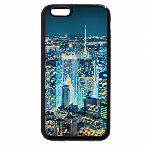 iPhone 6S / iPhone 6 Case (Black) superb view of new york city hdr