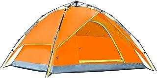 SZH&ZPT plus épais tente automatique double couche extérieure étanche à la pluie pour 3-4 personnes camping, randonnée