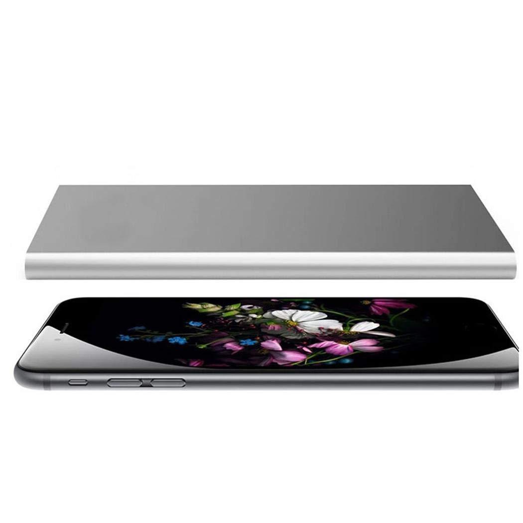 Chargeur de t/él/éphone Ultra-Compact Compatible avec Les tablettes iPad et Apple Android 2 Ports USB Haute Vitesse Banque dalimentation 20000mAh Bleu Xixini Chargeur Portable