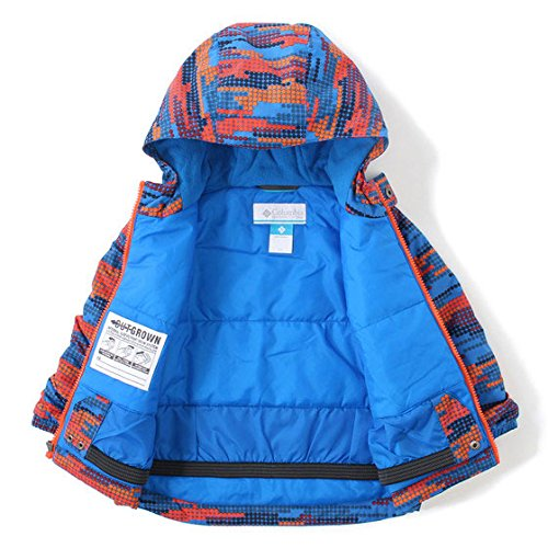 (コロンビア) Columbia FROSTY SLOPE SET 3T SUPER BLUE DOT PRINT