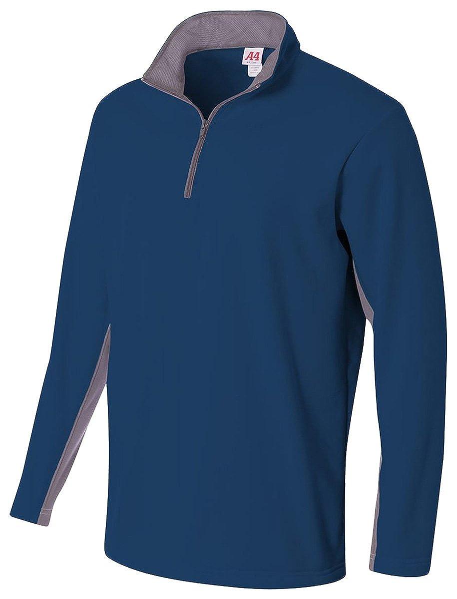 A4 N4246 Adult Tech Fleece 1/4 Zip Jacket