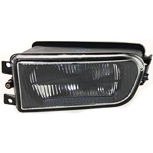 Evan-Fischer EVA12872018901 Clear Lens Fog Light for 98-00 BMW 528i 97-00 540i LH Plastic Lens w/Bulb