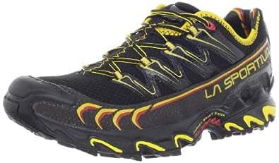 La Sportiva Ultra Raptor Men's Mountain Trail Running Shoe, Black / Yellow, 38