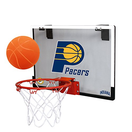 fan products of NBA Indiana Pacers Game On Indoor Basketball Hoop & Ball Set, Regular, Blue