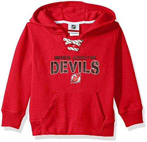 NHL New Jersey Devils Youth Boys Standard Issue Fleece Hoodi
