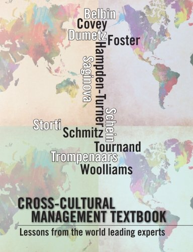 Cross-cultural management textbook: Lessons from the world leading experts in cross-cultural management