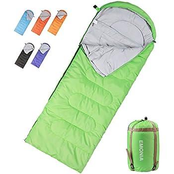 Amazon.com : EMONIA Camping Sleeping Bag, 3 Season