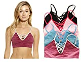 Just Intimates Wireless Seamless Sports Bra Bras (Pack Of 4)