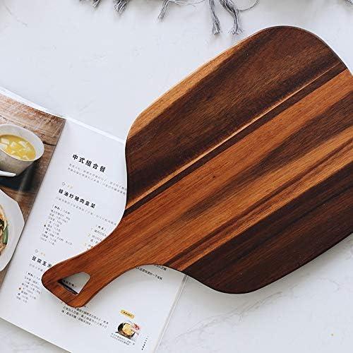 Noyer noir à la main en bois Planche à découper en bois massif entier en bois Planche à découper du pain Plateau de cuisson Outils de cuisson