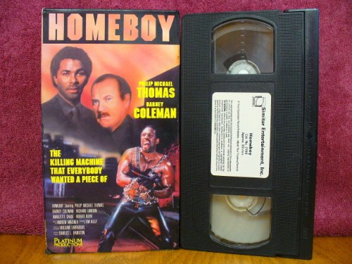 Homeboy, The Killing Machine that Everybody Wants a Piece Of, Starring Philip Michael Thomas and Dabney Coleman (VHS Tape)