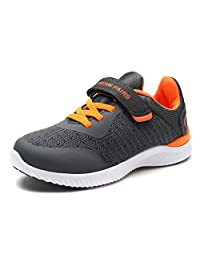Dream Pairs 170397-K New Boys & Girls Casual Easy On Light Weight Sneakers Play Running Shoes (Toddler/Little Kid/Big Kid)