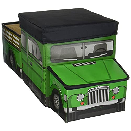 Green Truck Tractor Ride On Box To Store State Farm Animals Ranch Equipment Playsets And Dodge Pickup Trailer Toys Unique Cool Gift Gadget For Birthday
