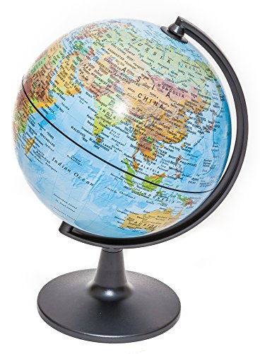 16 Inch Blue Globe - Bello's Ice Blue Globe of the World 12