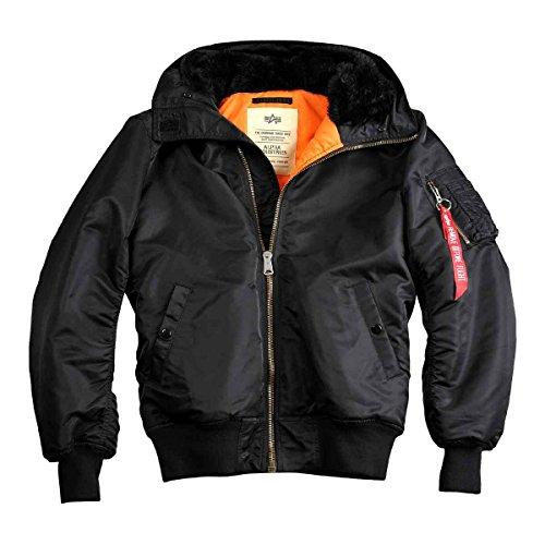 Uomo Alpha Camicia Giacca Nero Industries rfwfqt
