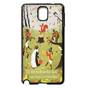 James-Bagg Phone case squirrel art pattern For Samsung Galaxy NOTE3 Case Cover FHYY432381