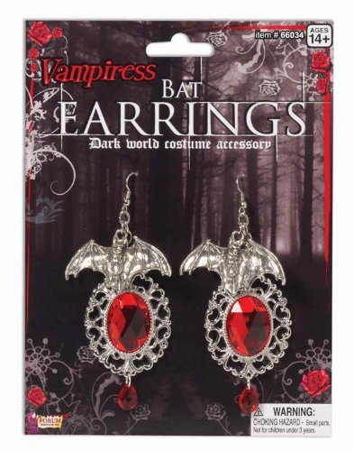 Vampiress Bat Earrings by Vampiress
