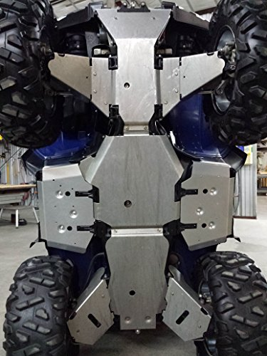 Aluminum Products - Y-Grizz 550-09-14 & 700-07-13-SPD w/Floorboard Skids- Aluminum Skid Plate Package Yamaha Grizzly 550-09-14 & ()