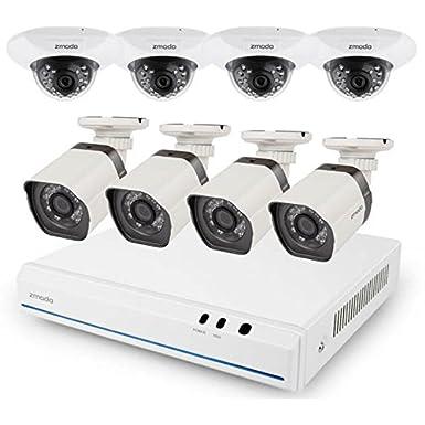 8 ch 720 P HD ZMODO G2 con 4 sistema de cámara de vigilancia spö cubierta