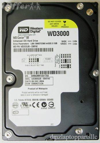 Western Digital Caviar SE WD3000JB 300GB 7200 RPM 8MB Cache IDE Ultra ATA100 3.5