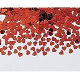Creative Converting 02015 Valentine's Confetti, Red