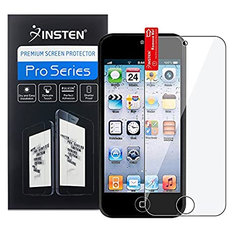 Insten Reusable Screen Protector Compatible with Apple iPod Touch 6th Gen Apple iPod touch 5th (Ipod Touch Gen3 Case)