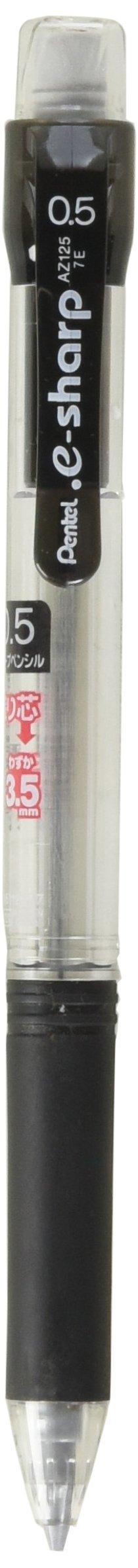 Pentel - Portaminas, E-sharp, 0,5 Mm, Color Negro (az125-a)