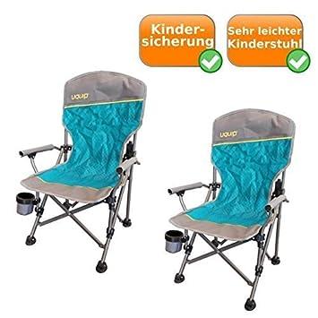 Juego de 2 plegable de niños silla de camping (Incluye ...