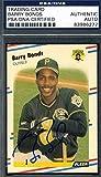 Barry Bonds 1988 Fleer Hand Signed Original Authentic Autograph - PSA/DNA Certified - Baseball Slabbed Autographed Cards