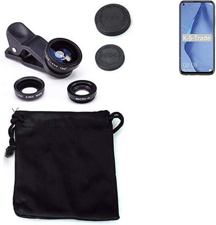K-S-Trade® - Adaptador de cámara 3 en 1 para Huawei P40 Lite Macro ...