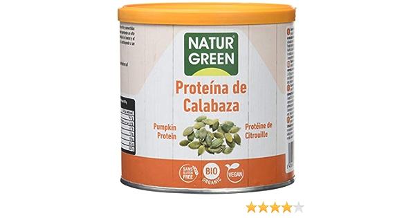 NaturGreen Concentrado de Proteína ecológica de Calabaza al ...