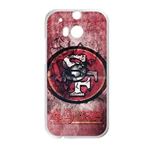 HTC One M8 Phone Case Football NFL San Francisco 49ers Personalized Cover Cell Phone Cases GKZ186203