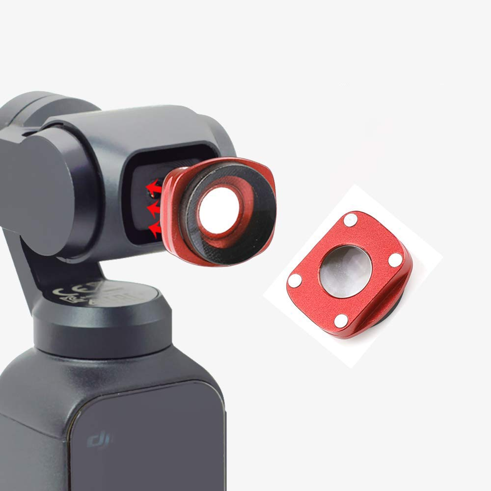 OSMO Pocket Wide Angle Lens Optical Glass Magnetic Adsorption Camera Accessories Compatible with DJI OSMO Pocket 4K Gimbal Camera Handheld Stabilizer Accessories Wide-Angle Camera Lens