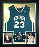 LeBron James Framed High School Jersey Signed UDA COA Upper Deck Cavaliers St. Vincent St. Marys